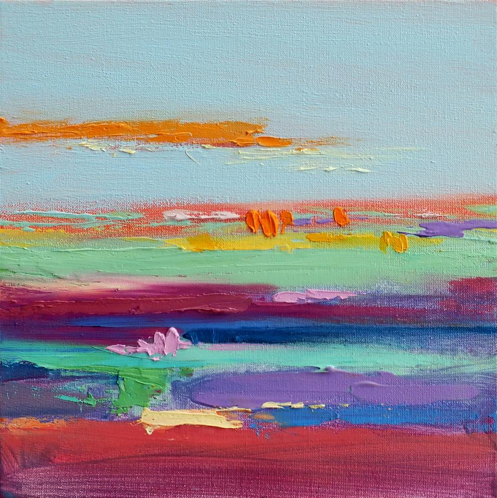 """Landscape 306"" original fine art by Ewa Kunicka"