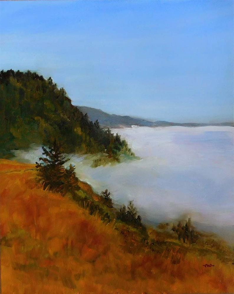 """Soft Blanket of Fog"" original fine art by Cietha Wilson"