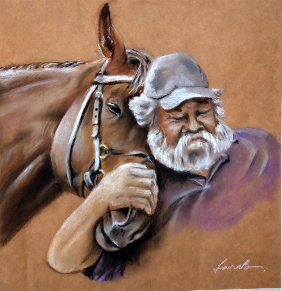 """Old Friends"" original fine art by Laura B."