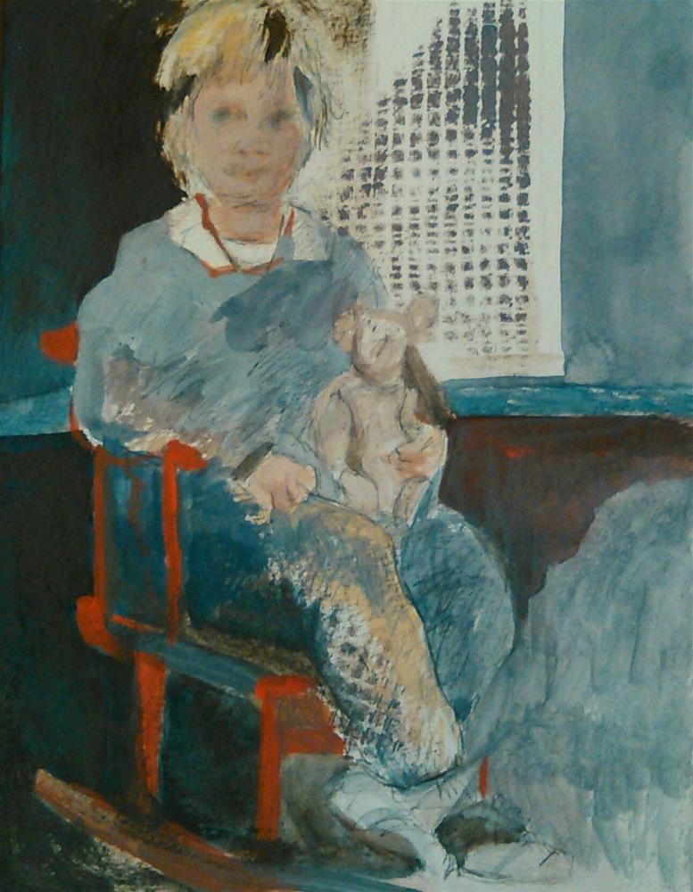 """Little One"" original fine art by Ann Rudd"