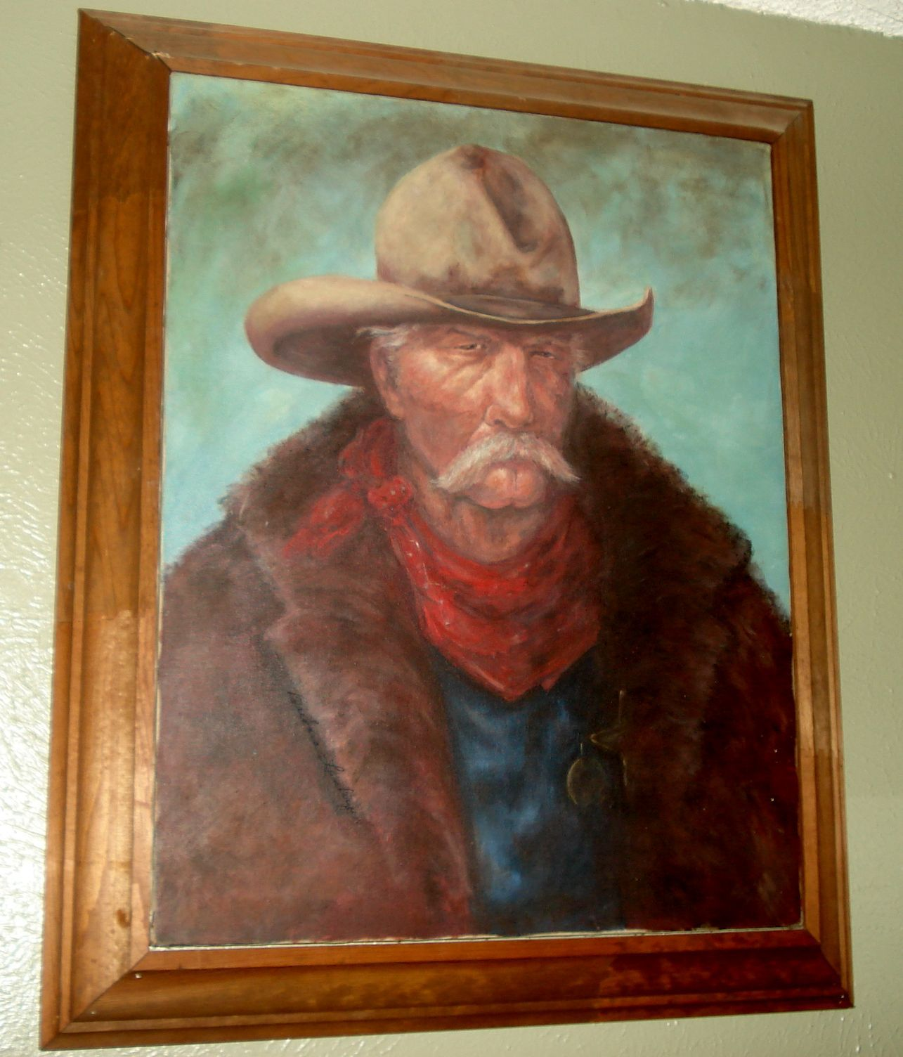 """Sheriff Jack"" original fine art by Barbara Lemley"