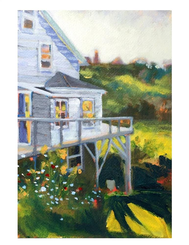 """Cottage Study"" original fine art by Suzanne Woodward"