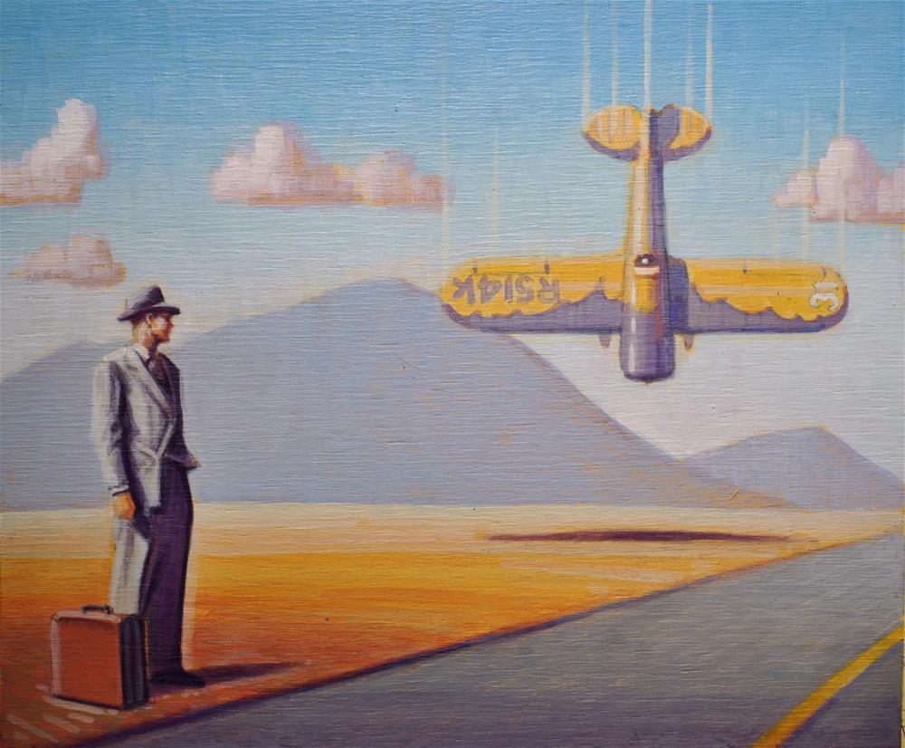 """""""Eye Witness"""" original fine art by Robert LaDuke"""
