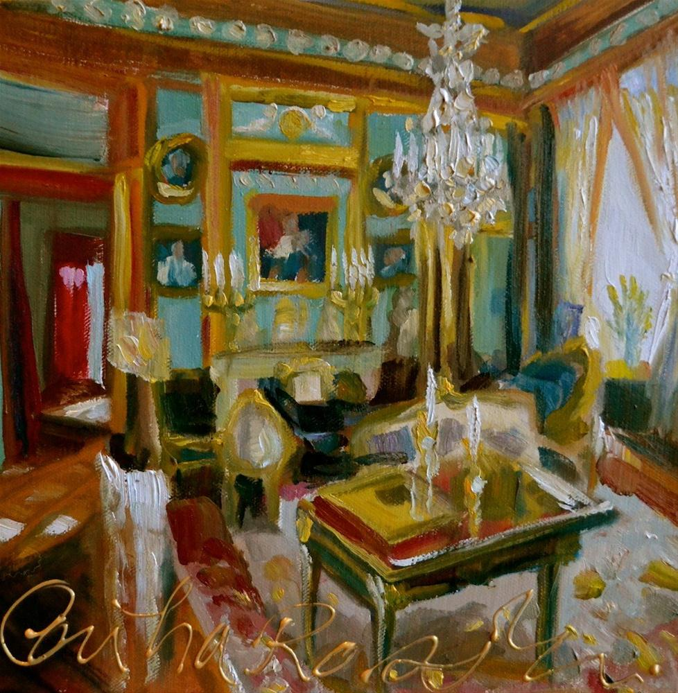 """Die Voorkamer"" original fine art by Cecilia Rosslee"