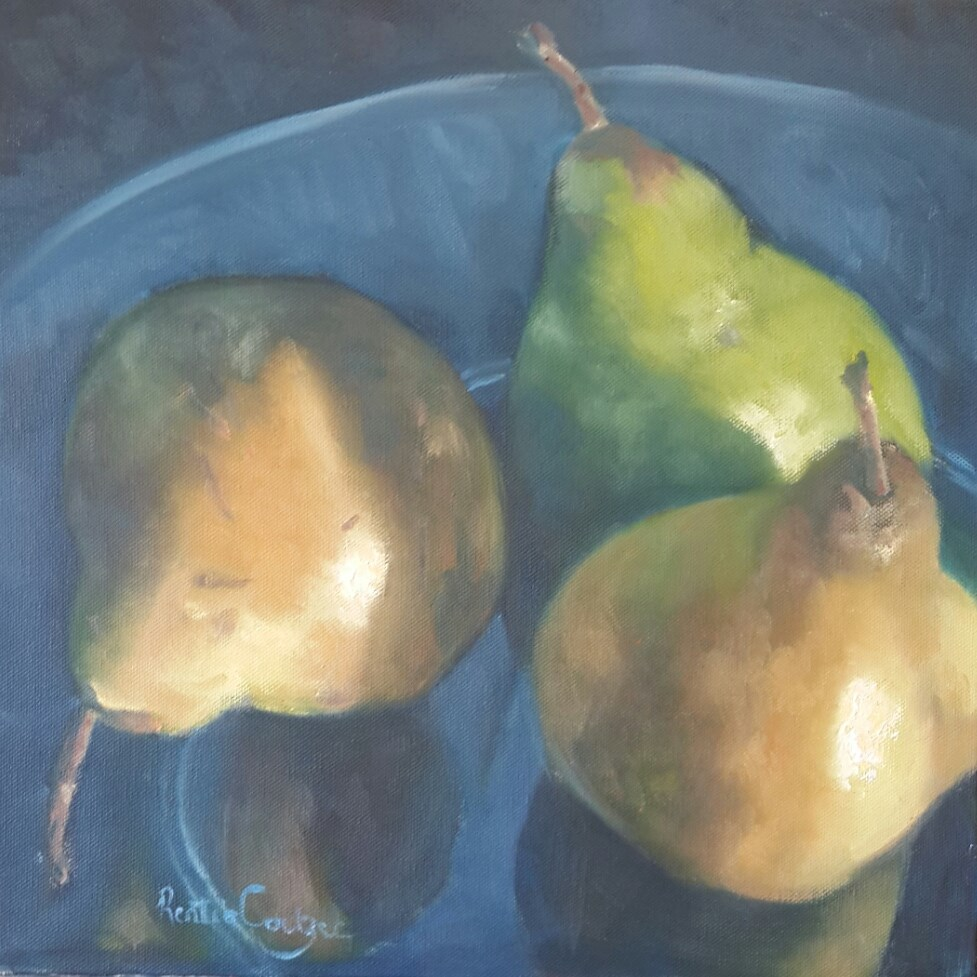 """Feelin fruity!"" original fine art by Rentia Coetzee"