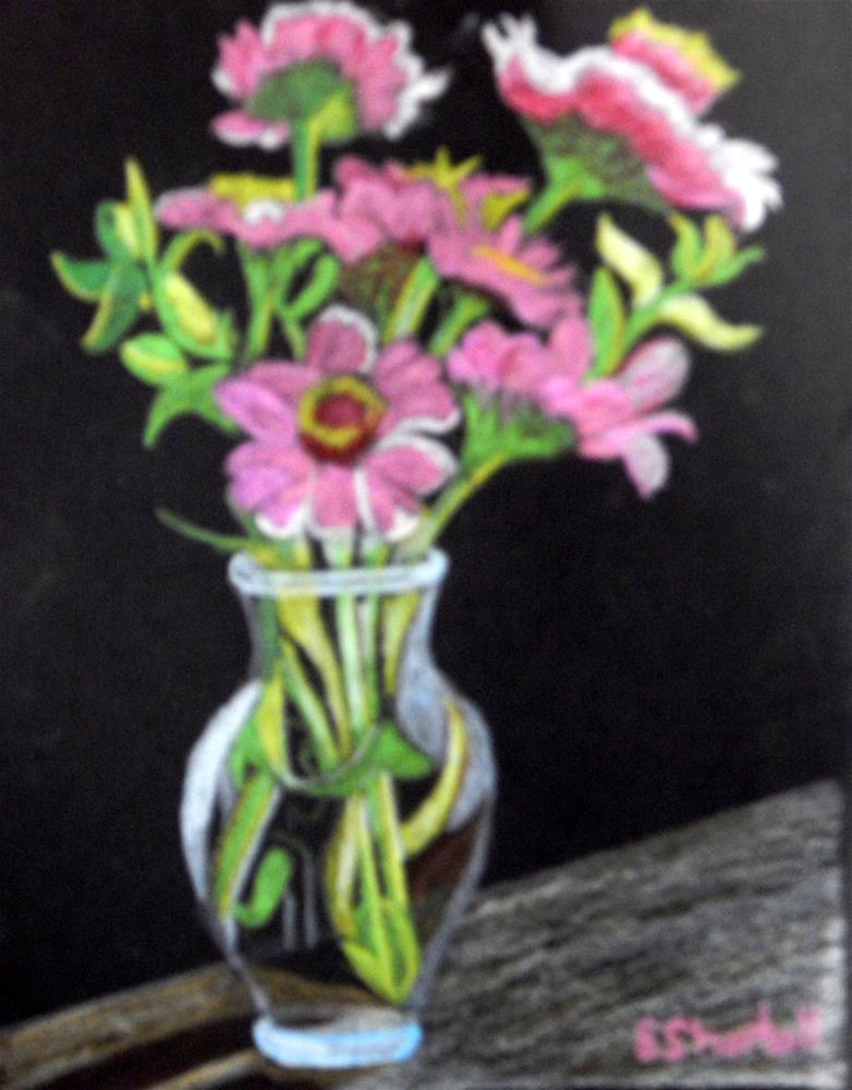 """""""A Small Bouqet"""" original fine art by Elaine Shortall"""