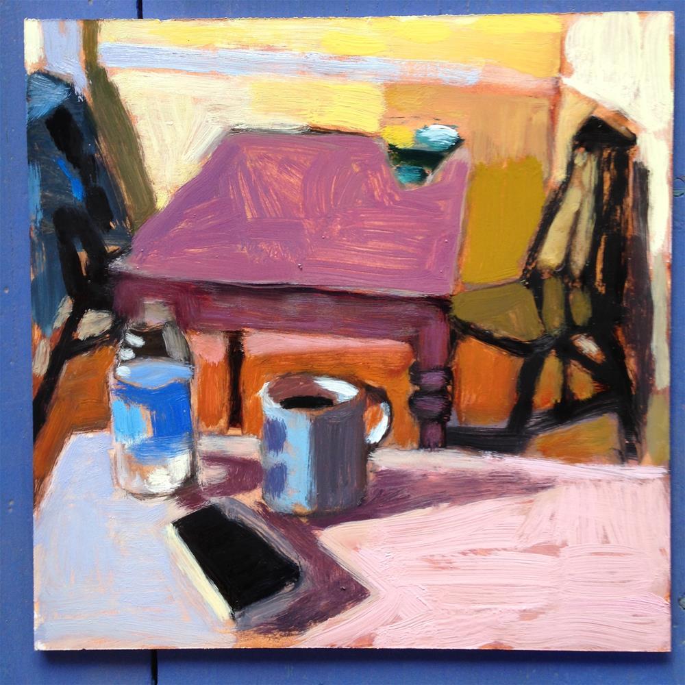 """Morning Essentials"" original fine art by Pamela Hoffmeister"