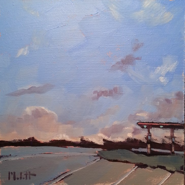 """Modern Landscape Contemporary Oil Painting Heidi Malott"" original fine art by Heidi Malott"