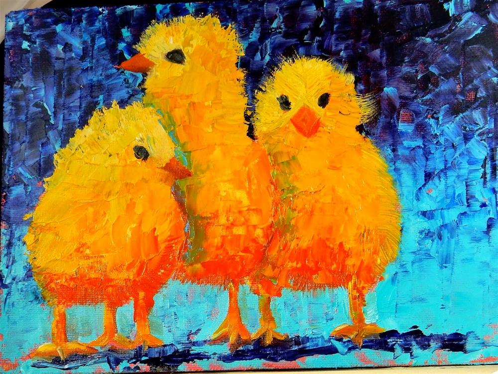 """Where's Mama?"" original fine art by Phyllis Davis"