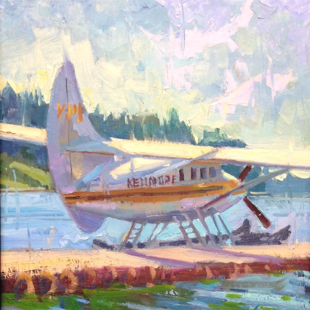 """Kenmore Air"" original fine art by Emiliya Lane"