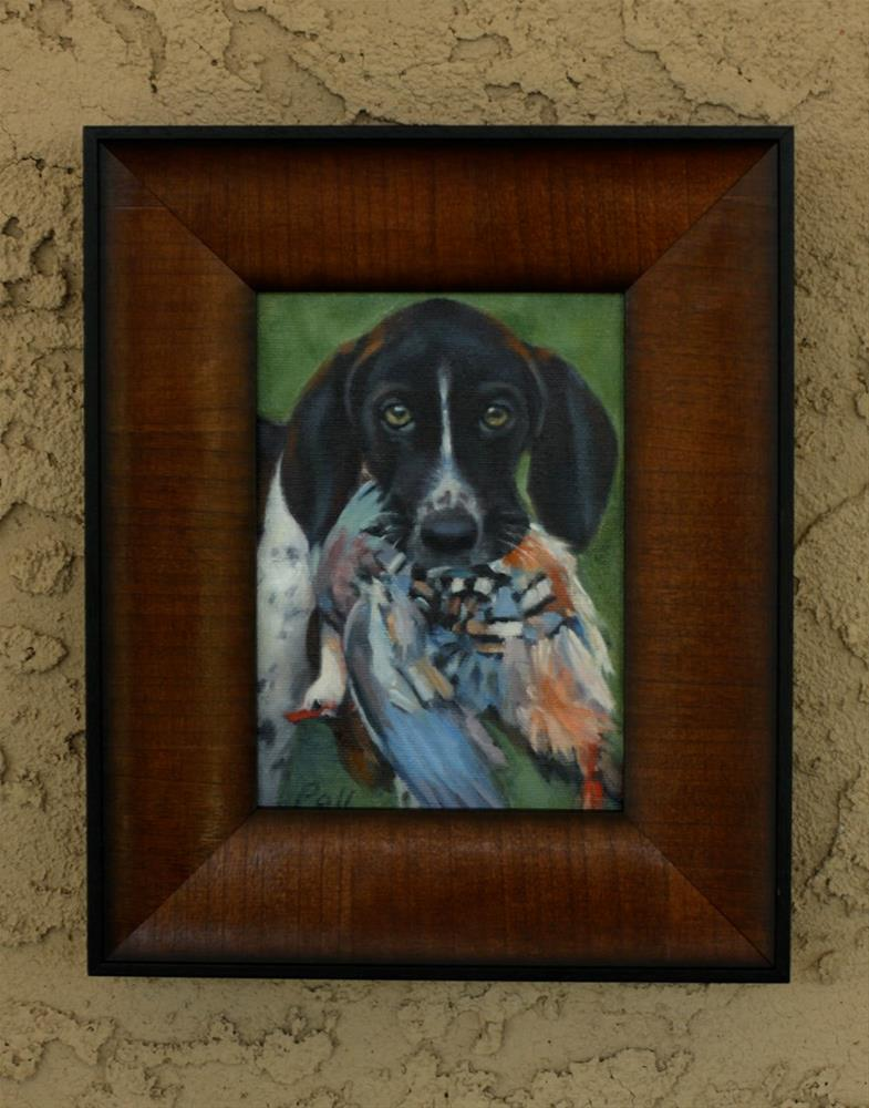 """Pet Portrait"" original fine art by Pamela Poll"