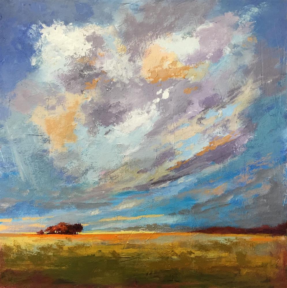 """Prairie Sky"" original fine art by Sherri Cassell"