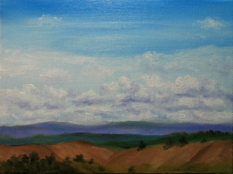 """""""This Land is Our Land..."""" original fine art by Jean Nelson"""