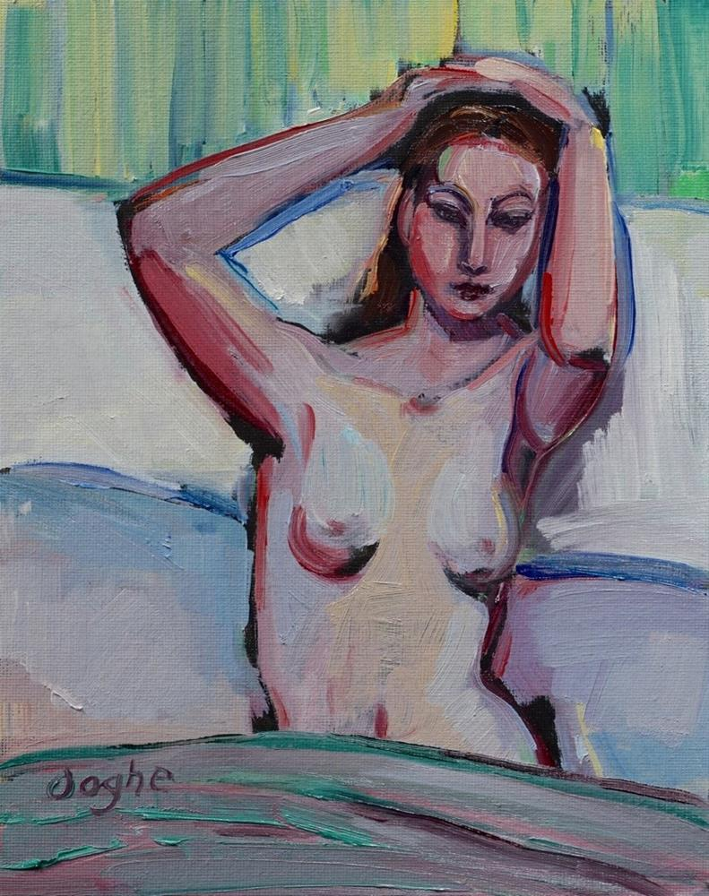 """Morning Nude"" original fine art by Angela Ooghe"
