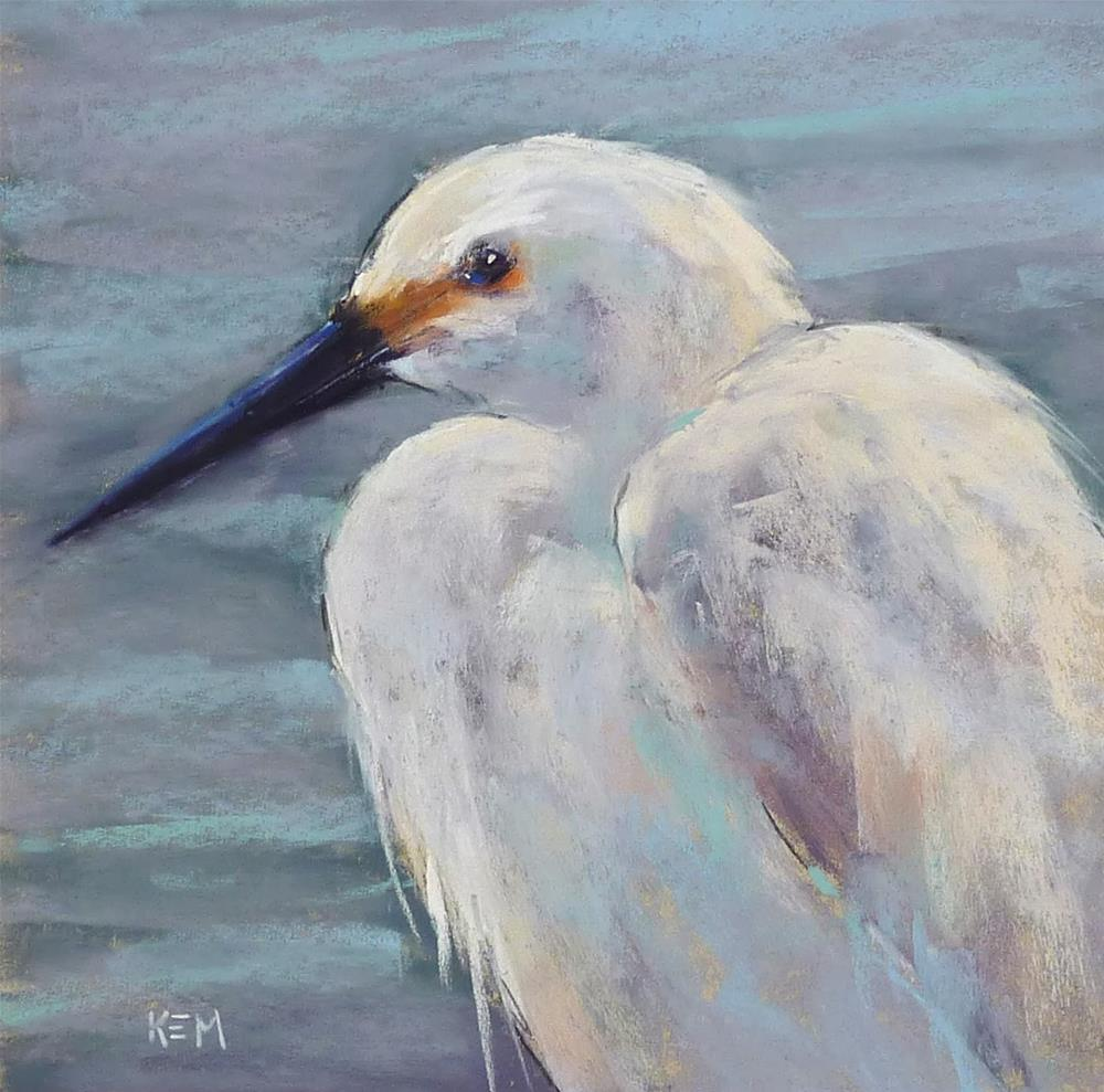 """How to Paint a Bird with 25  Pastels"" original fine art by Karen Margulis"