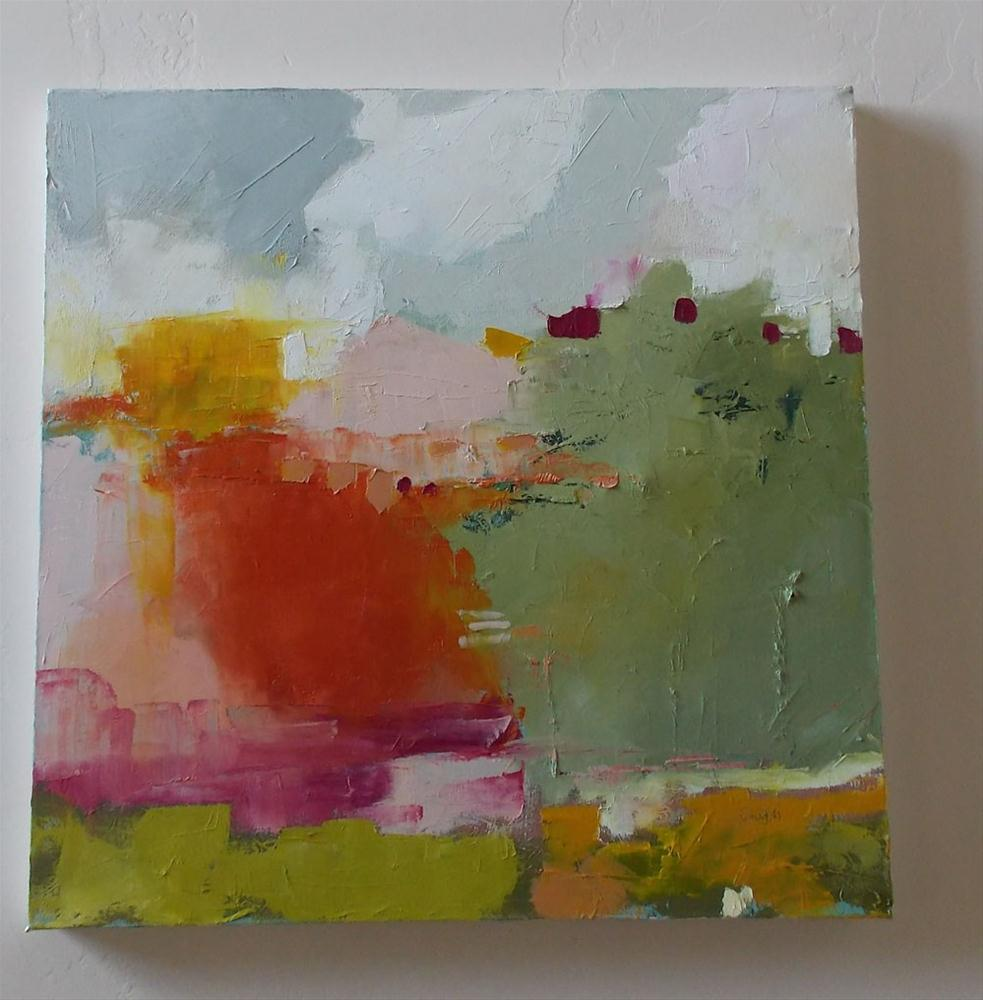 """""""Holding it Together"""" original fine art by Pamela Munger"""