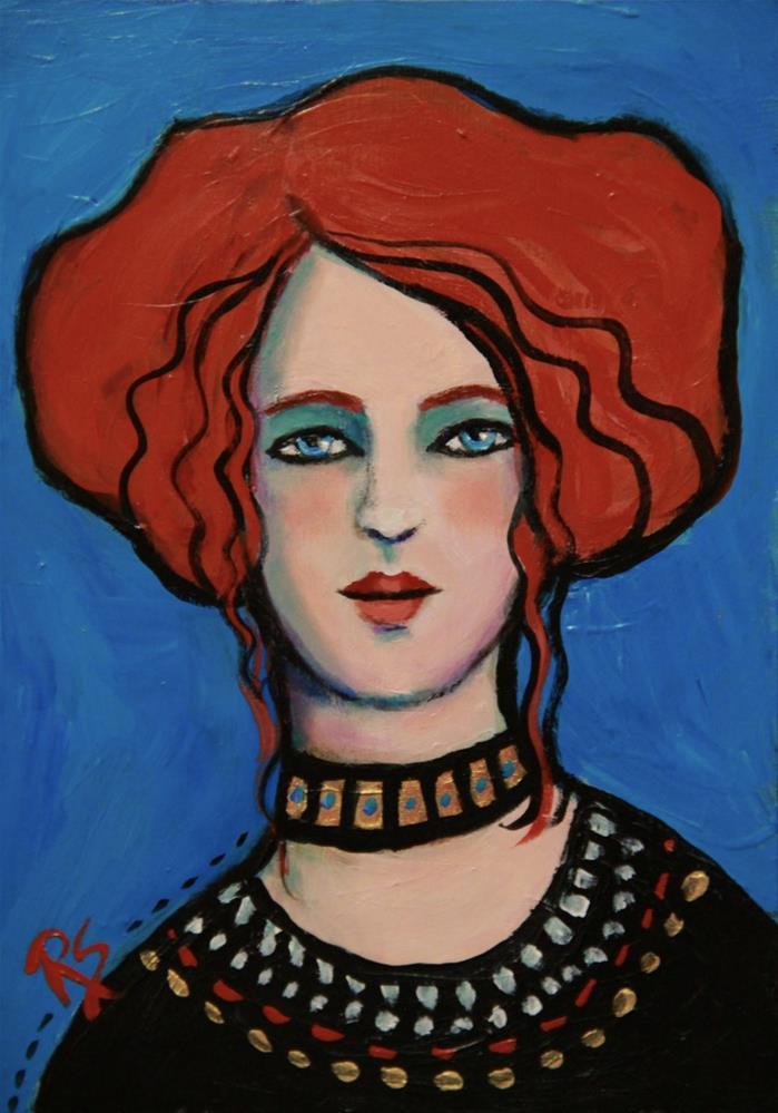 """Sybille"" original fine art by Roberta Schmidt"