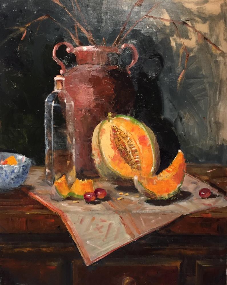 """Autumn Light"" original fine art by Barbara Fluty"