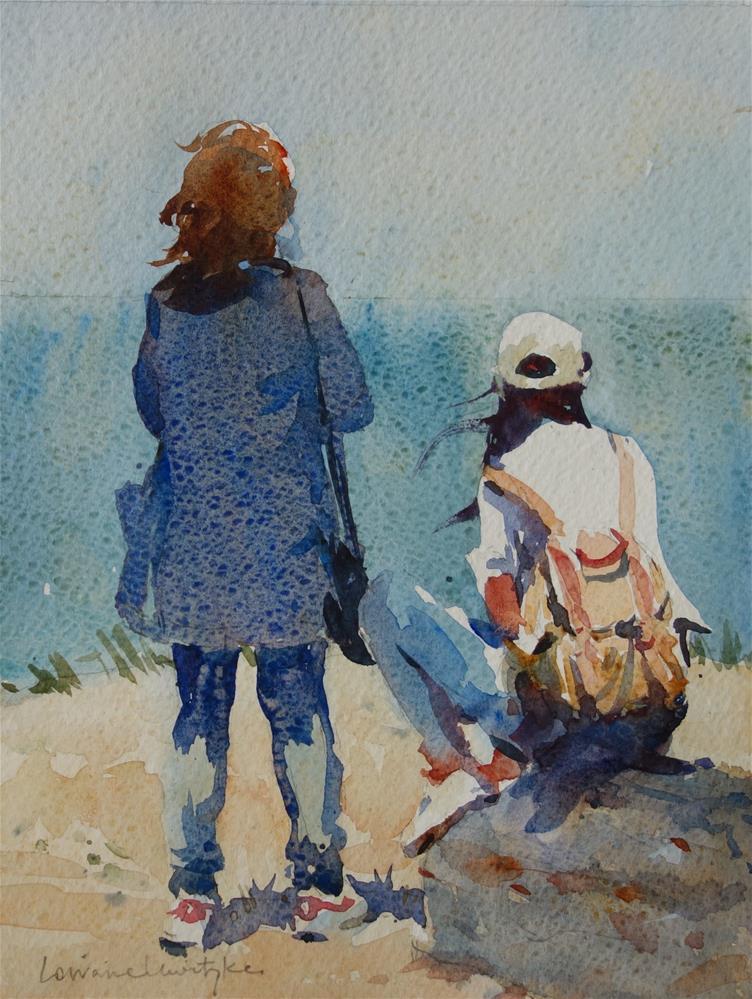 """Sea Gazing"" original fine art by Lorraine Lewitzka"
