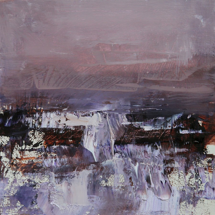 """In the Violet"" original fine art by Tibor Nagy"