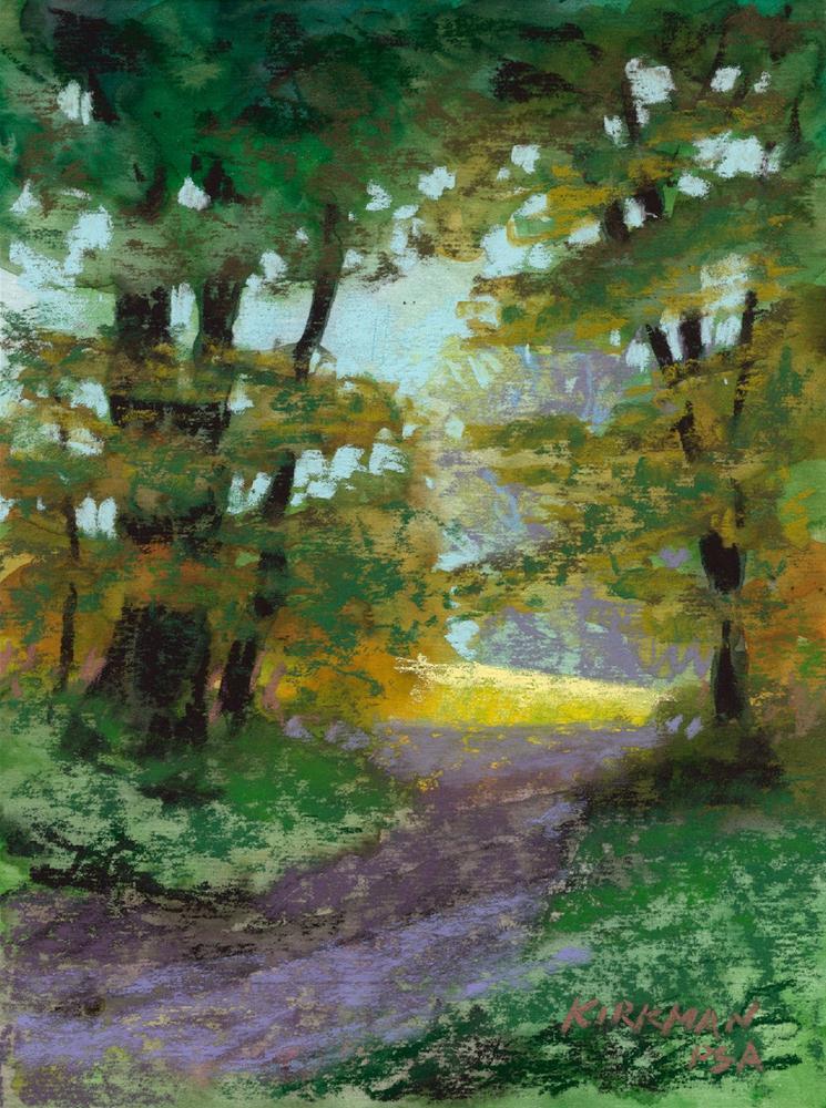 Park Trail #21 original fine art by Rita Kirkman