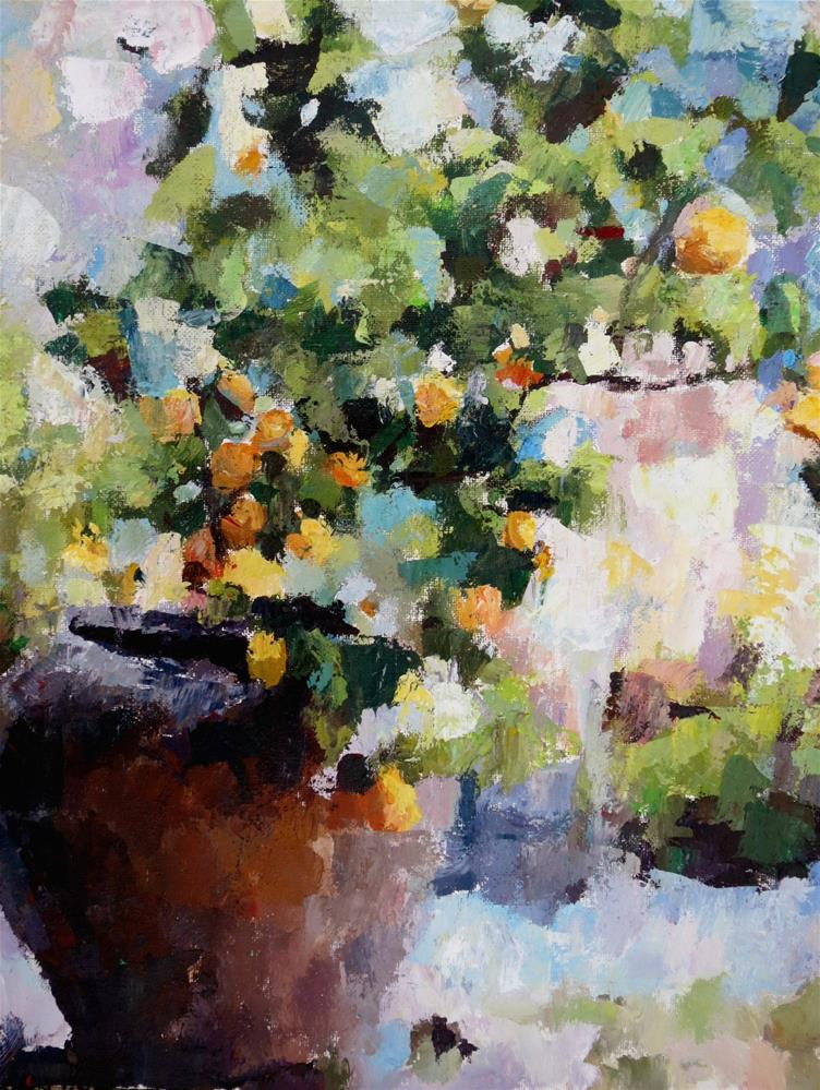 """Lemon Tree"" original fine art by Nava Judith"