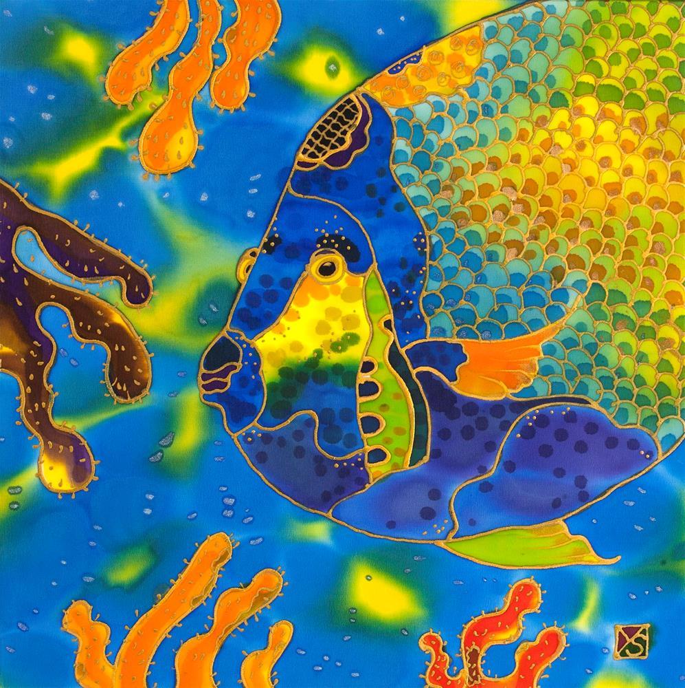 """Coral Fish"" original fine art by Yelena Sidorova"