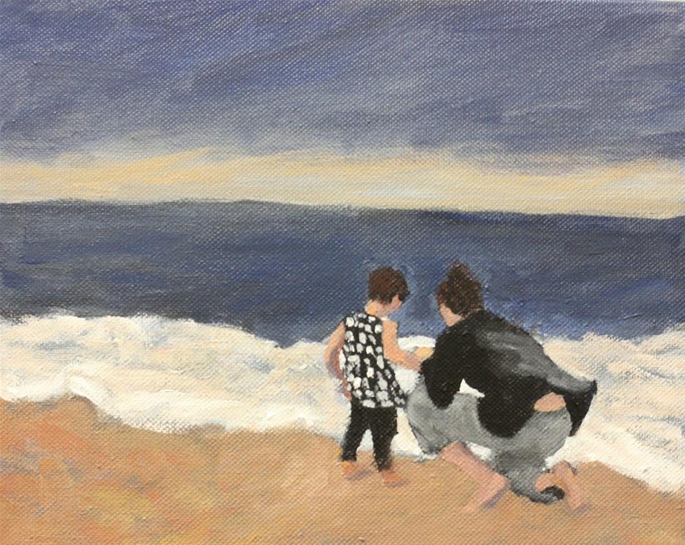 """Love"" original fine art by Christine Parker"