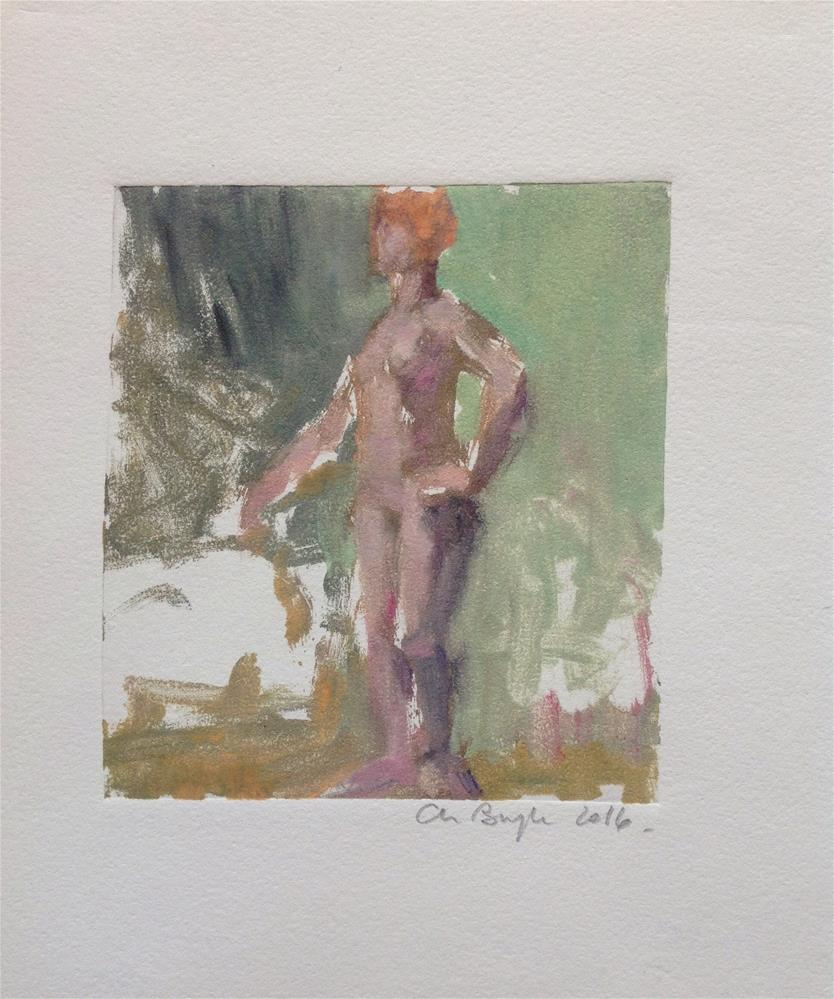 """Untitled"" original fine art by Christine Bayle"