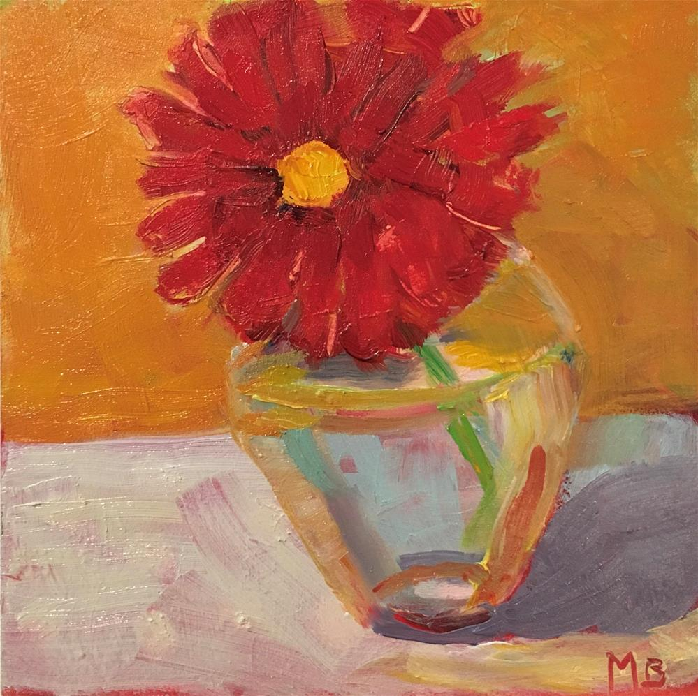 """Singleton"" original fine art by Marcia Bergtholdt"