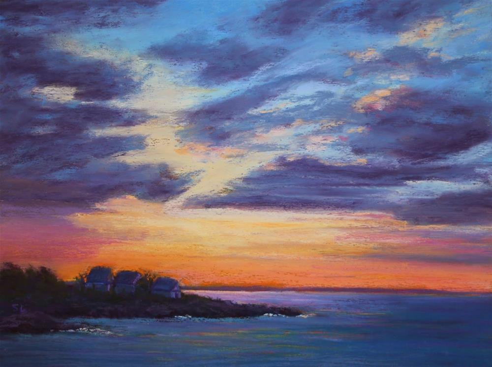 """First Light"" original fine art by Sharon Lewis"