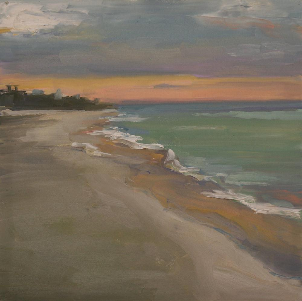 """early morning seaside"" original fine art by Carol Carmichael"