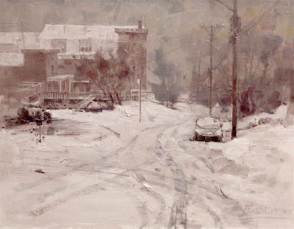 """Landscape(13)"" original fine art by fengshi jin"