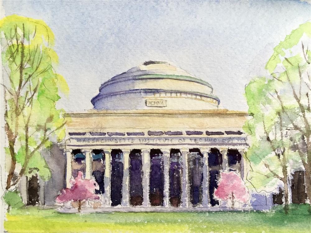 """MIT study 1"" original fine art by Anna Starkova"