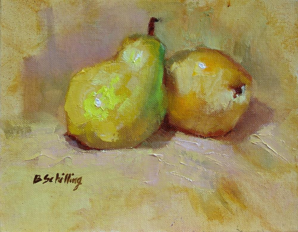 """Two Pair"" original fine art by Barbara Schilling"