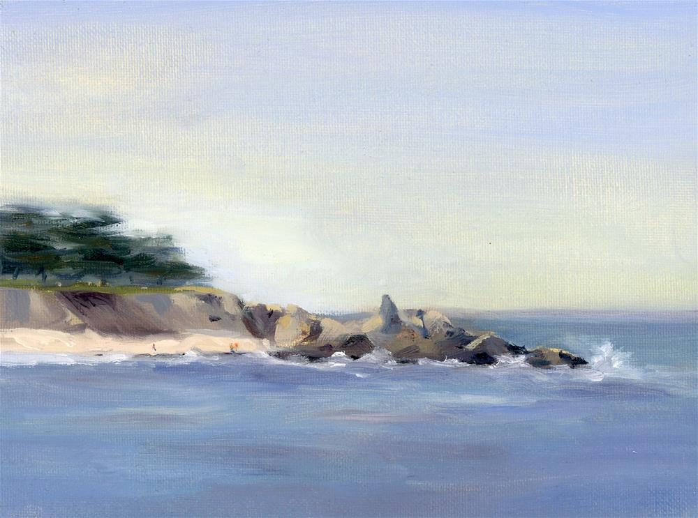 """Coastal Study III"" original fine art by Susanne Billings"
