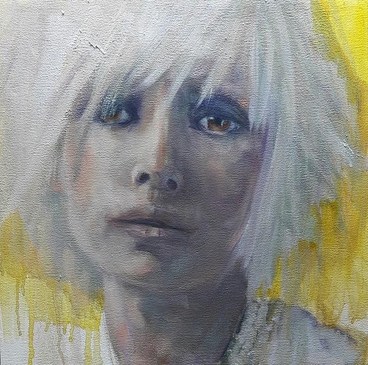 """Josephine"" original fine art by Rentia Coetzee"