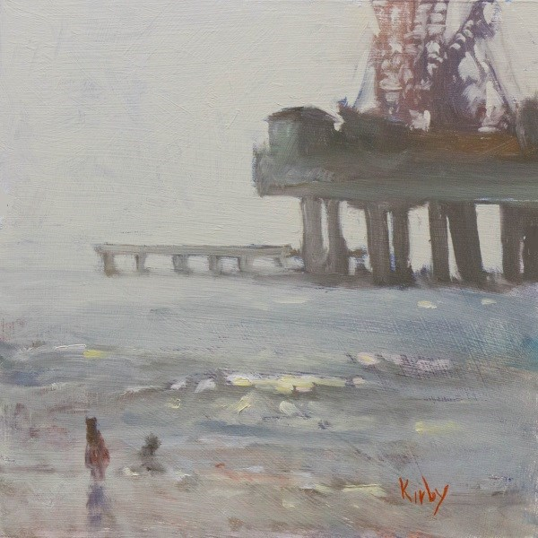 """Pleasure Pier"" original fine art by Randall Cogburn"