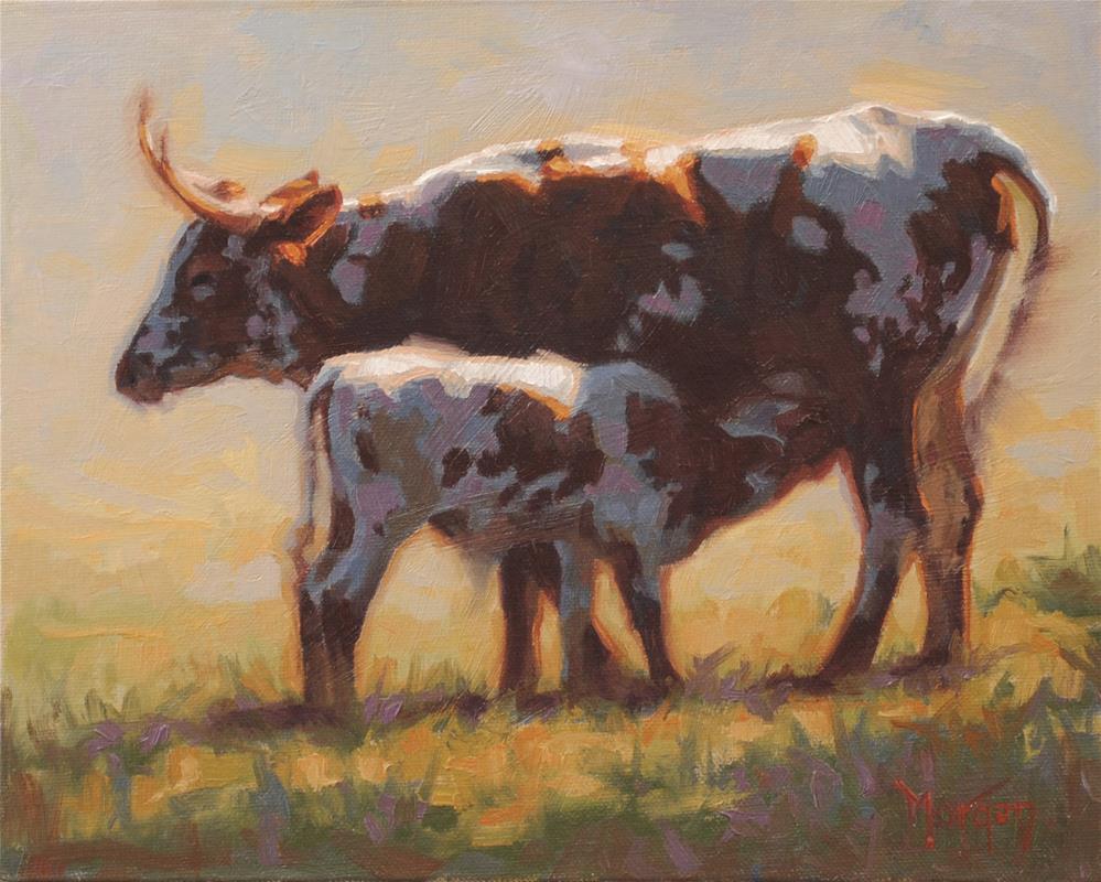"""Seeing Spots #2"" original fine art by Cecile W. Morgan"