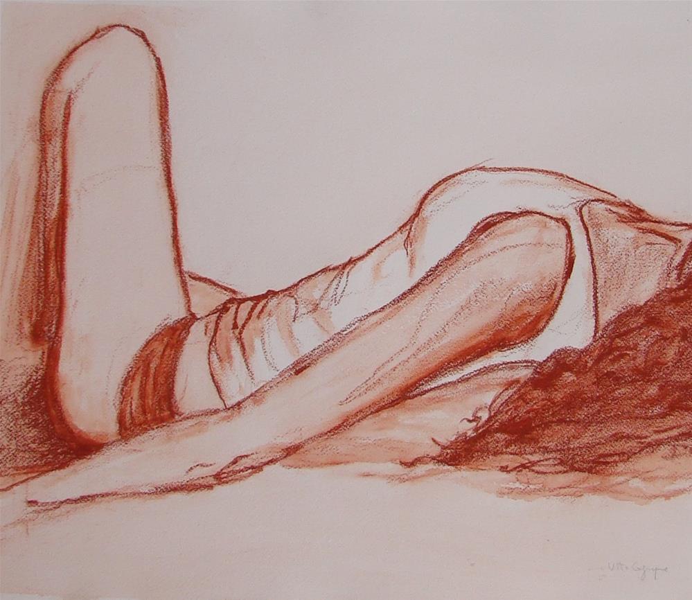 """""""She"""" original fine art by Vito Cagnazzo"""