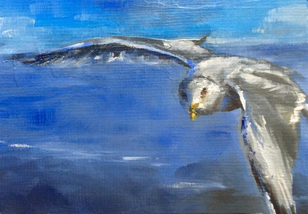 """High Above"" original fine art by Gary Bruton"