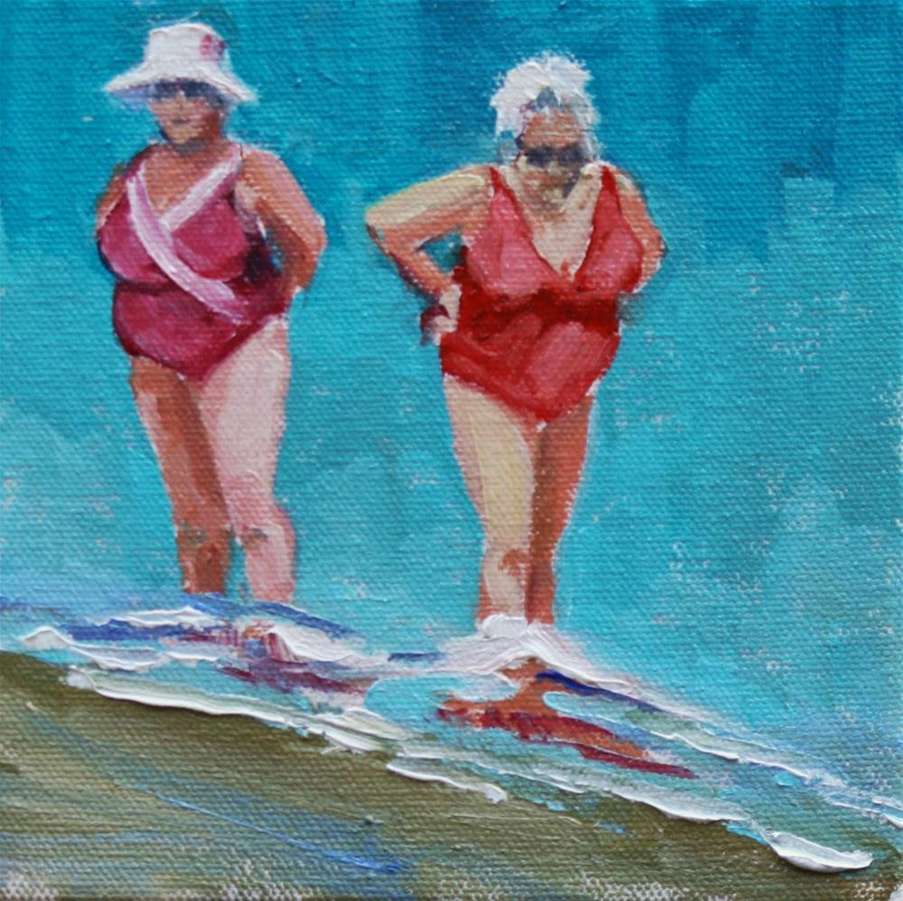 """hot tamales"" original fine art by Carol Carmichael"