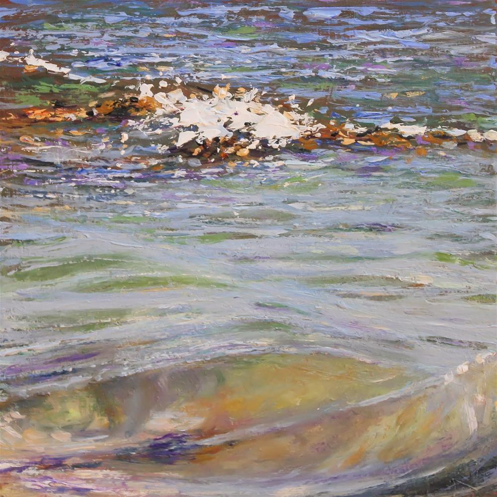 """Carnac Swell"" original fine art by Ken Devine"