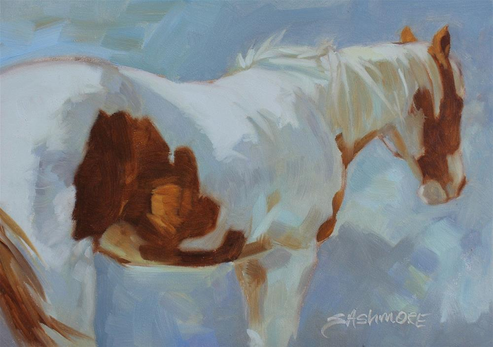 """Paint Study"" original fine art by Susan Ashmore"