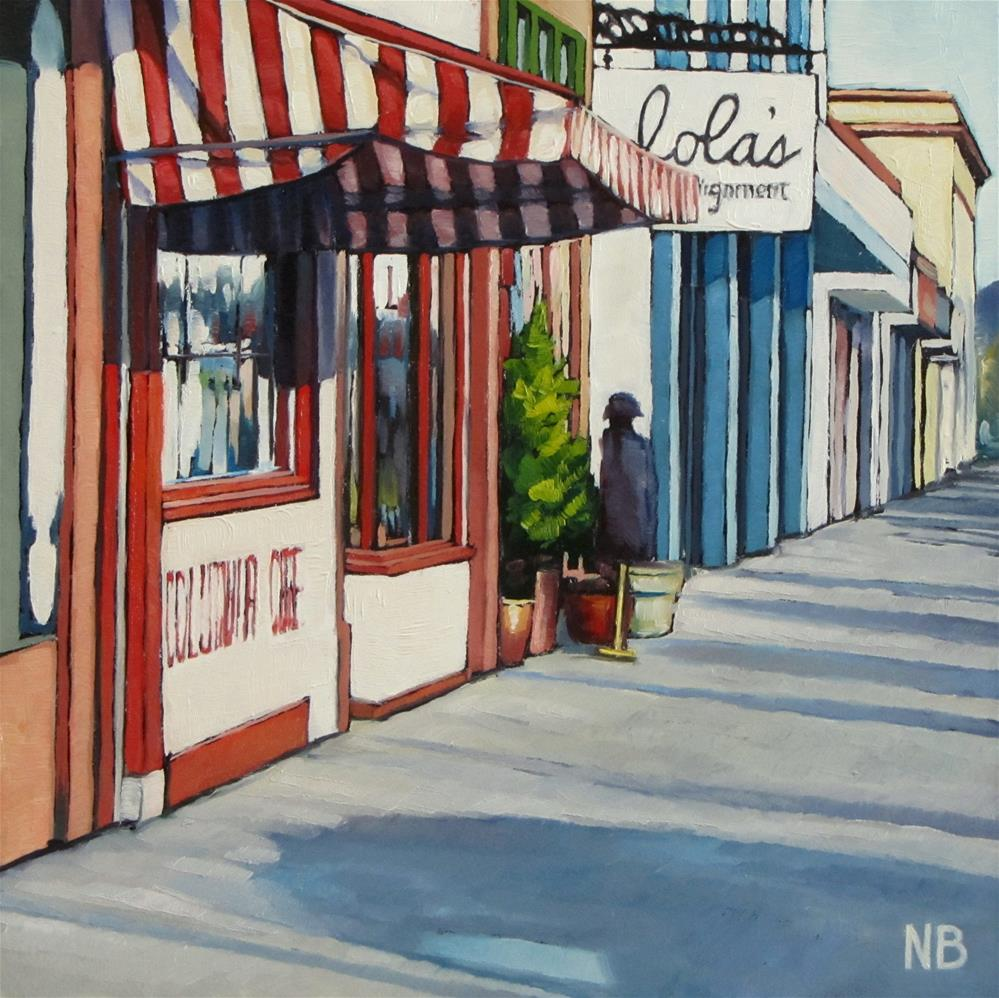 """Lola's"" original fine art by Nora Bergman"