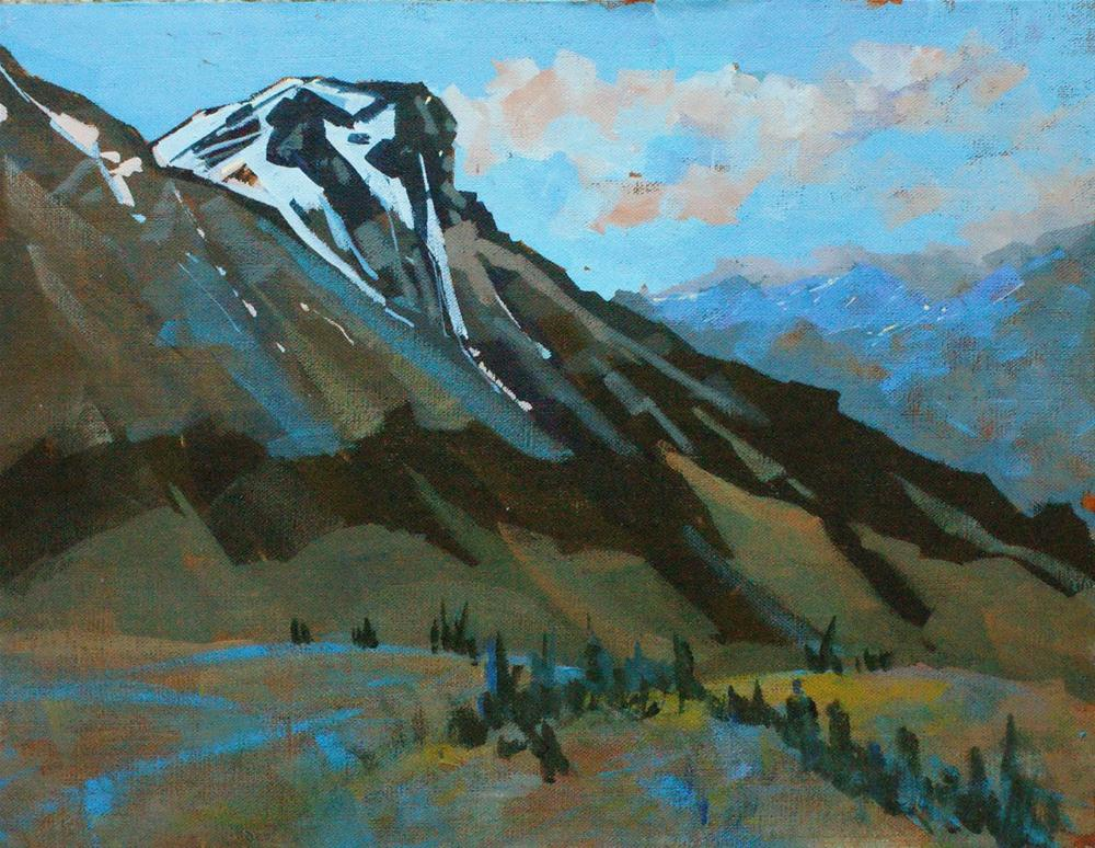 """Spring Evening Idaho"" original fine art by Brian Buckrell"