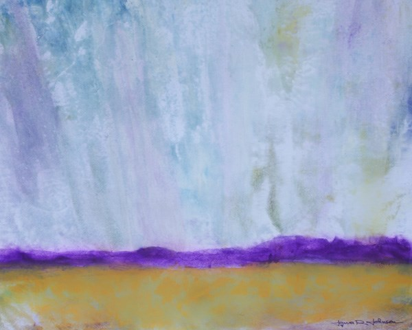 """Rain Likely"" original fine art by Jana Johnson"