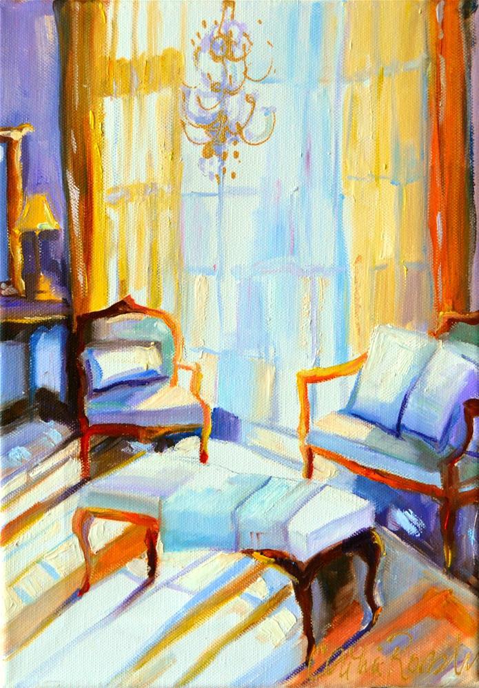 """RIDEAU JUANE"" original fine art by Cecilia Rosslee"