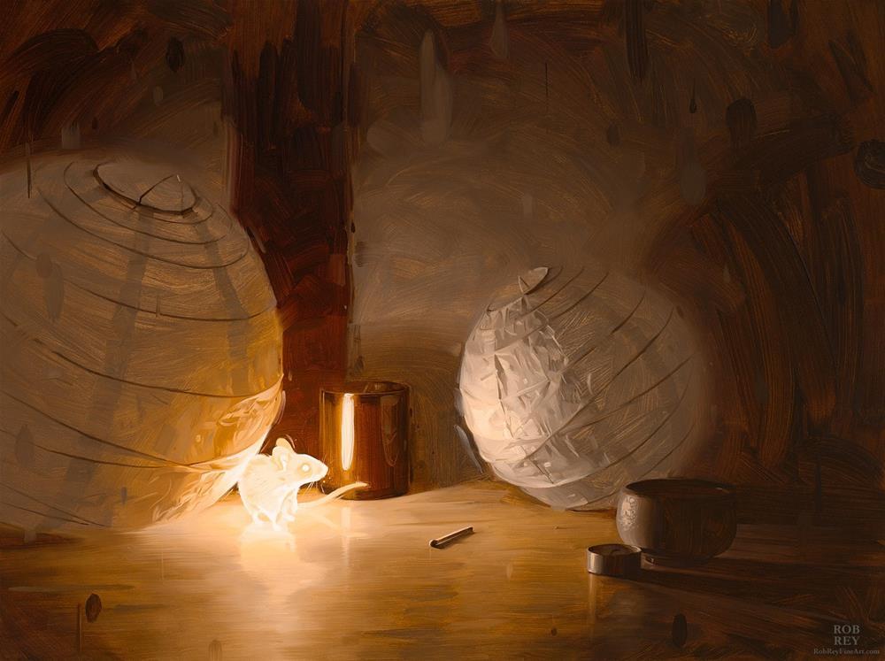 """Bioluminescence"" original fine art by Rob  Rey"