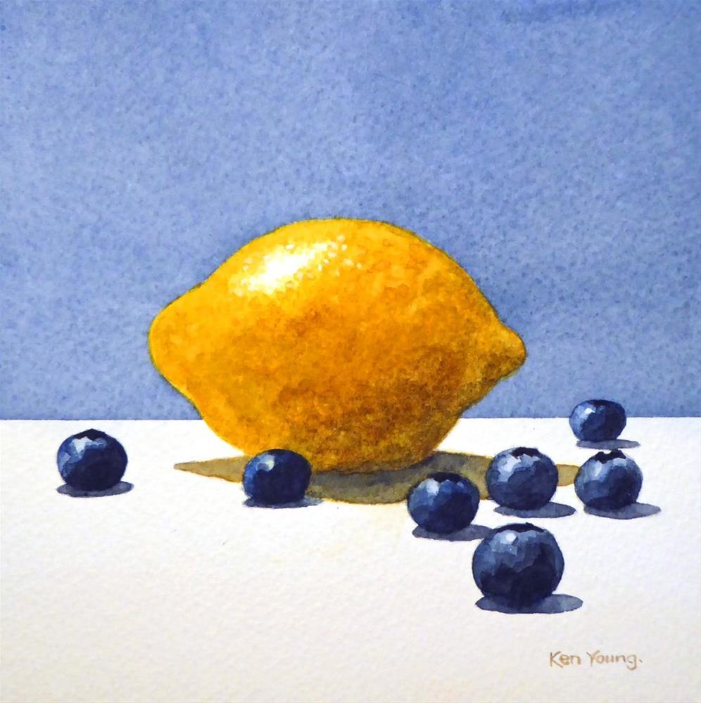 """Lemon Blues"" original fine art by Ken Young"